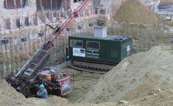 Sonderingen in de bouwput